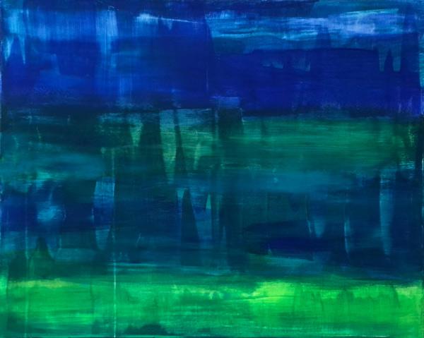 Abstrakte Bilder Acryl Handgemalte