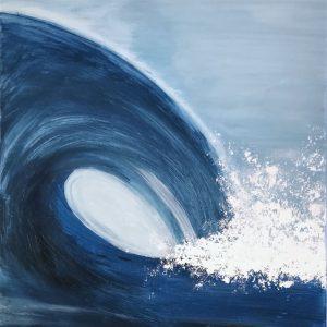Welle Bild online kaufen gemalt